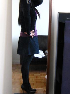 J.Crew Indigo Skirt