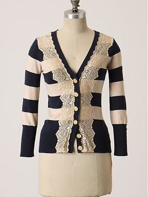 Anthropologie Field Game Cardigan
