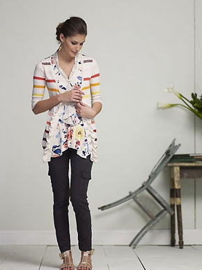 Anthropologie Rise and Fall Cardigan