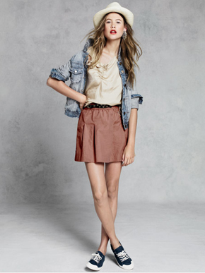 J.Crew Cotton Pimm Skirt