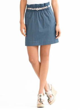 Banana Republic Paper Bag Skirt