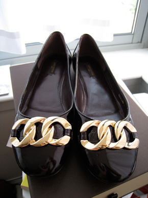 Louis Vuitton Claudia Ballerina Flats