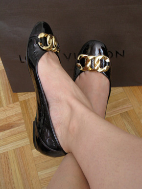 Louis Vuitton Claudia Flats