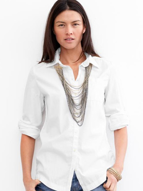 Banana Republic Essential Boyfriend Shirt