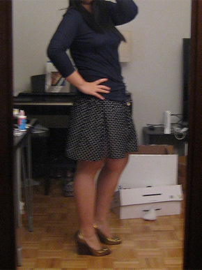 H&M Polka Dot Skirt