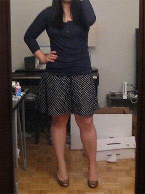 H&M Polka Dot Skirt