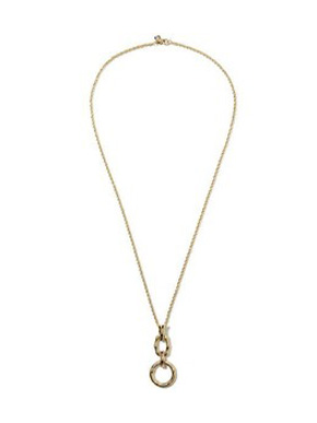 Banana Republic Indo Bamboo Pendant Necklace