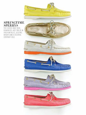 J.Crew Sperry Top Siders